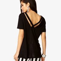 Crisscross V-Back Top