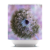 "Alison Coxon ""Dandelion Clock"" Shower Curtain 
