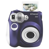 Polaroid 300 Instant Camera - Purple (PIC-300L)