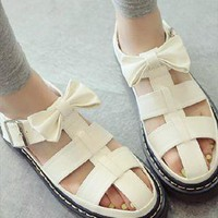 cut out sandals from mancphoebe