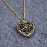 Heart Shape Hollow Out Locket
