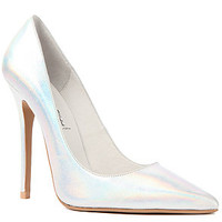 Jeffrey Campbell The Darling Shoe in Silver Hologram : Karmaloop.com - Global Concrete Culture