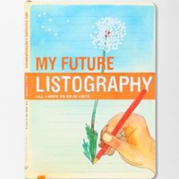 My Future listography journal