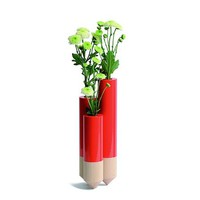 PIK Vase in Red by Y'A PAS - Pop! Gift Boutique