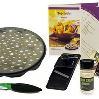 Mastrad Amazon Exclusive Top Chips Set, Includes Recipe Book, Mandolin and Spices:Amazon:Kitchen & Dining