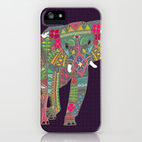 painted elephant iPhone & iPod Case by Sharon Turner