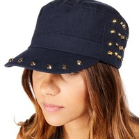 Navy Spike Cadet Hat