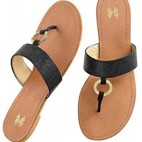 Monogram O-ring Sandal