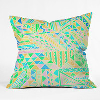 DENY Designs Home Accessories | Lisa Argyropoulos Wild One Two Outdoor Throw Pillow