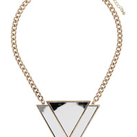 Mirrored Triangle Collar - Necklaces - Jewellery - Bags & Accessories - Topshop