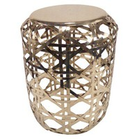 Threshold™ Basketweave Metal Accent Table