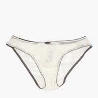 Topshop / Lace and Spot Brief
