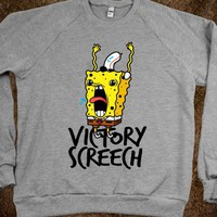 Victory Screech (crew neck) - Typography - Skreened T-shirts, Organic Shirts, Hoodies, Kids Tees, Baby One-Pieces and Tote Bags