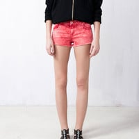 BASIC COLOURED SHORTS - TROUSERS AND SHORTS - WOMAN -  United Kingdom