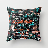 ::  Don't Hold the Wall :: Throw Pillow by GaleStorm Artworks