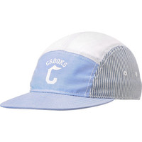 Crooks and Castles Fleet Blue & Grey 5 Panel Hat