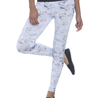 Diamond Bling Print Legging | Shop Bottoms at Wet Seal