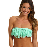 L*Space City Tribe Mixers Knotted Dolly Fringe Top Pistachio - Zappos.com Free Shipping BOTH Ways