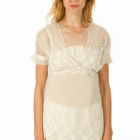 IMITATION OF CHRIST LACE TOP - WOMEN - TOPS - IMITATION OF CHRIST - OPENING CEREMONY