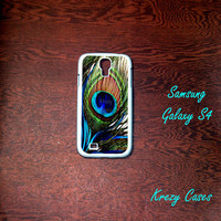 Peacock Feather Samsung Galaxy S4 Case,Galaxy S4 case, Samsung Galaxy S3 Cases, Galaxy  S3 case