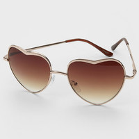Heart Of Glass Sunglasses
