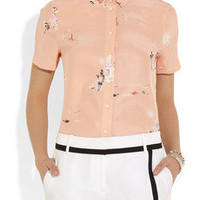 J.Crew | Vacationland printed silk shirt | NET-A-PORTER.COM