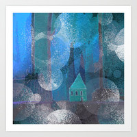 little house Art Print by Marianna Tankelevich