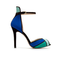 ANKLE STRAP SANDAL - Shoes - Woman - ZARA United States