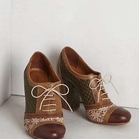 Anthropologie - Lace-Cut Oxfords