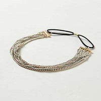 Anthropologie - Gilded Chainlink Headband