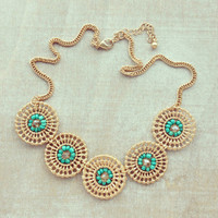 Pree Brulee - Mint Provocateur Necklace