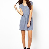 Short Sleeve Skater Dress @ asos.com