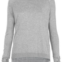Knitted Fine Gauge Top - Knitwear  - Clothing
