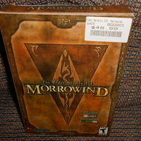 Elder Scrolls 3 Morrowind and Construction Set Bethesda Softworks pc 2 cds