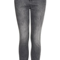 MOTO Grey Distressed Jamie Jeans - Memorial Day 20% Off  - Sale & Offers