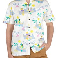 Keepin' It Real Cool Shirt | Mod Retro Vintage Mens SS Shirts | ModCloth.com