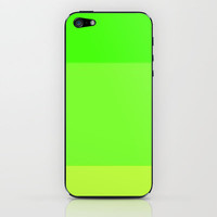 Re-Created Playing Field XLVIII iPhone & iPod Skin by Robert Lee
