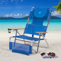 Ostrich 3 N 1 Beach Chair / Lounger Color: Blue [3N1-1001B]:Amazon:Patio, Lawn & Garden