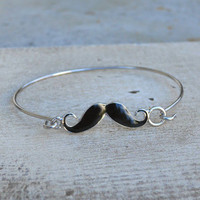 Curly Mustache Bracelet [3916] - $9.60 : Vintage Inspired Clothing & Affordable Summer Frocks, deloom | Modern. Vintage. Crafted.