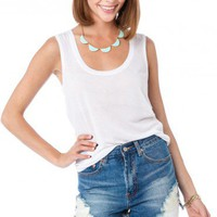 Day Trip High Waisted Cut-Off Shorts - ShopSosie.com