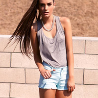 Frayed Colored Denim Shorts | FOREVER 21 - 2024756498