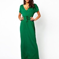ASOS Maxi Dress In Grecian Style at asos.com