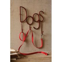 Dogs Leash, Key and Coat Hook