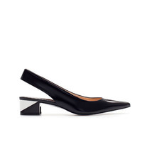 POINTED COMBINATION HEEL SLING BACK - Woman - New this week - ZARA United States