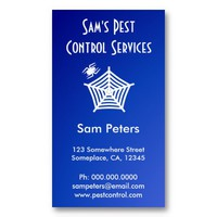 Pest Control Business Card from Zazzle.com