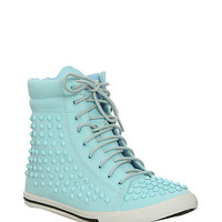 N.Y.L.A. Turquoise Jaymes Stud Sneakers | Hot Topic