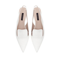 BLOCK HEEL POINTED SHOE - Shoes - Woman - ZARA United States