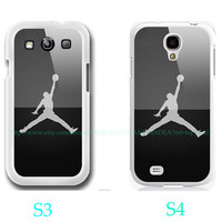 Michael Jordan Logo Photo-Samsung Galaxy S3 ,Samsung Galaxy S4 ,you can choose S3 or S4-includes screen protector and cleaning cloth