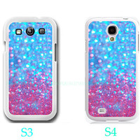 Personalized Sparkle&Glitter-Samsung Galaxy S3 ,Samsung Galaxy S4 ,you can choose S3 or S4-includes screen protector and cleaning cloth
