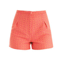 Geometric jacquard shorts | Sophie Hulme | MATCHESFASHION.COM